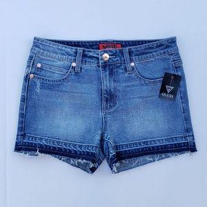 New Women's GUESS Denim Shorts sz 27